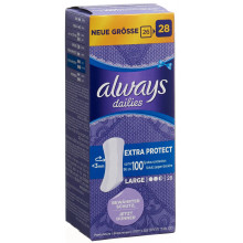 ALWAYS Protège-slip Extra Protect Large 28 pce