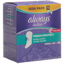 ALWAYS Protège-slip Fresh&Protect Normal Fresh Gigapack 76 pce