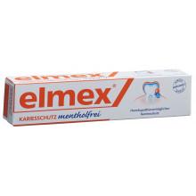 ELMEX sans menthol dentifrice tb 75 ml
