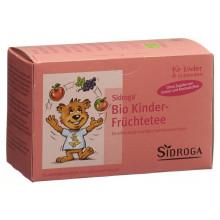 SIDROGA infusion bio de fruits pour les enfants sach 20 pce