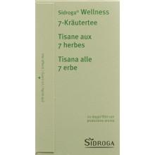 SIDROGA Wellness tisane aux 7 herbes 20 pce