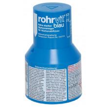 ROHRVIT bleu Détergent extra-fort pour les siphons de cuisine 100 g