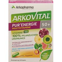 ARKOVITAL Pur'Energie 50+ multivitamines et -minéraux naturels caps bte 60 pce