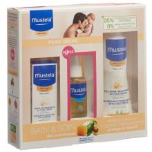 Mustela Coffret Fête des bébés peau sèche