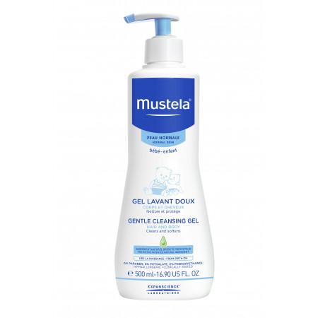 Mustela Gel lavant doux peau normale disp 500 ml