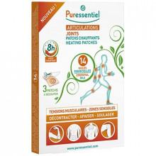 PURESSENTIEL ARTICULATIONS & MUSCLES PATCHS CHAUFFANTS14 Huiles Essentielles