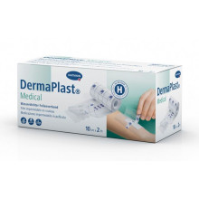 DERMAPLAST Medical Film Imperméable 10 cm x 2 m
