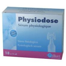 PHYSIODOSE sérum physiologique 18 x 5 ml