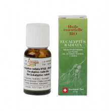 AROMASAN eucalyptus radia huil ess étui bio 15 ml