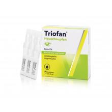 TRIOFAN Rhumes des foins Gouttes oculaires monodoses 15 x 0.5 ml