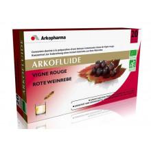 ARKOFLUIDE Vigne Rouge 20 ampoules de 15 ml