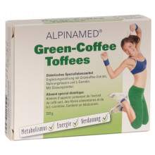 ALPINAMED Green Coffee Toffees 120 g