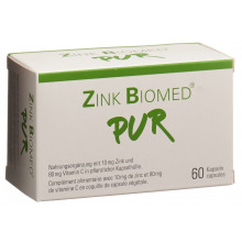 Zink BIOMED PUR caps 60 pce