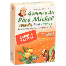 BIOLIGO gommes du père michel orange bte 45 g