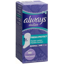 ALWAYS protège-slip Fresh&Protect Normal 30 pce